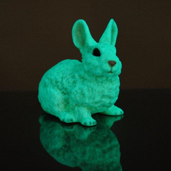 43. F299Fluo coniglietto fluo